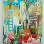 oil on canvas 130x175cm  SOLD
