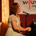 Thu, 06/09/2012 - 8:57pm - Iris DeMent brings songs from 'Sing the Delta' to NYC for a concert of WFUV Members. Hosted by John Platt. Photo by Laura Fedele