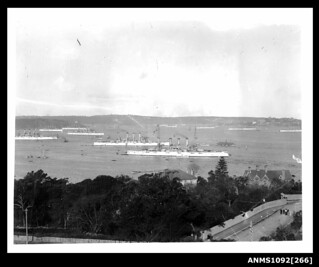 1908 visit of the American Great White Fleet, Sydney Harbour