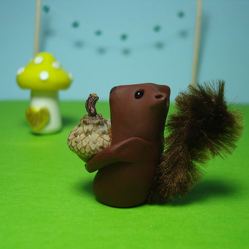 Squirrel Sculpture
