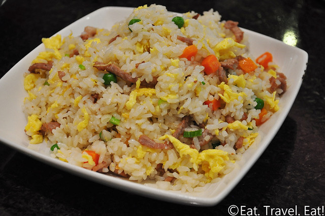 Fortune Dumpling- Monterey Park, CA: Pork Fried Rice