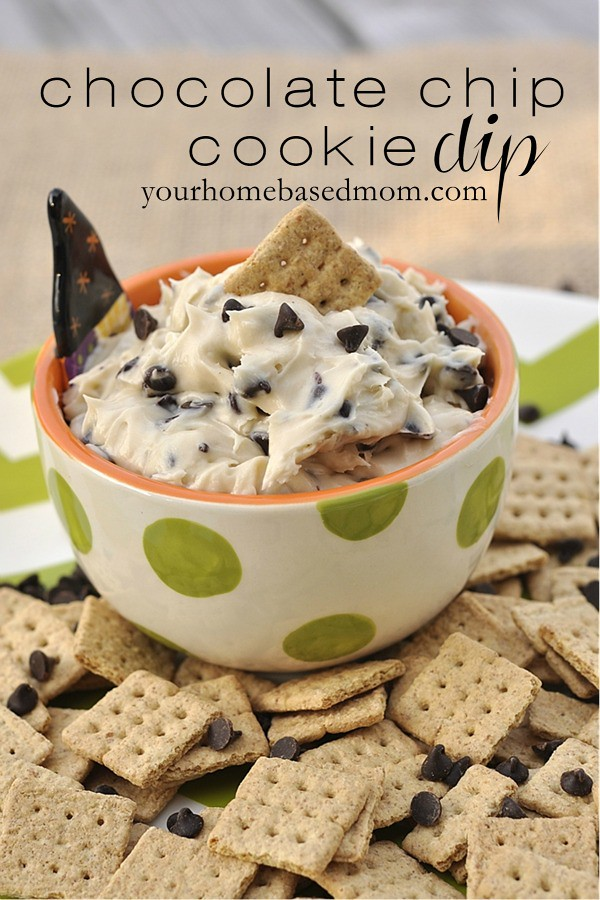 chocolate chip cookie dip