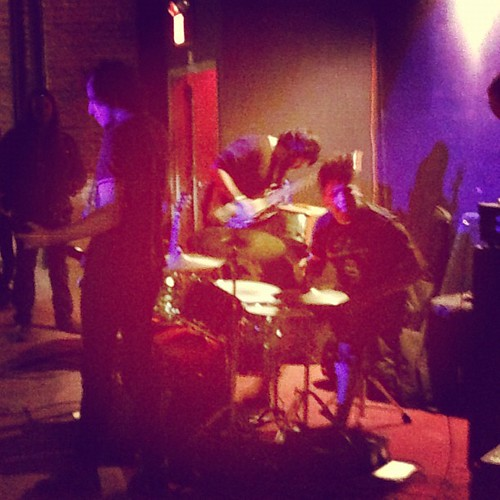 @youngadultsma bring the Boston #shoegaze #punk to @paperboxnyc #eisgtcmj2012 #cmj2012