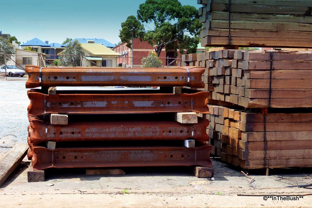 Railway Sleepers, Kalgoorlie 2012 by InTheBush*