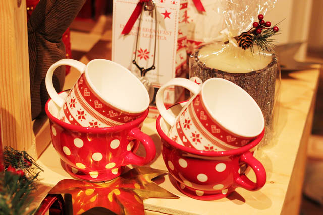 Laura Ashley festive christmas homeware