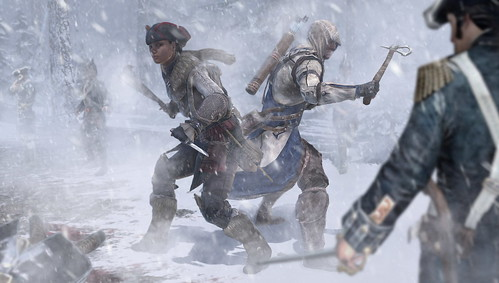 Assassin's Creed III and Assassin's Creed III: Liberation: Cross Play Content