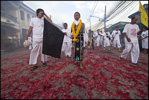 22nd October Vegetarian Festival Procession in Kathu Phuket