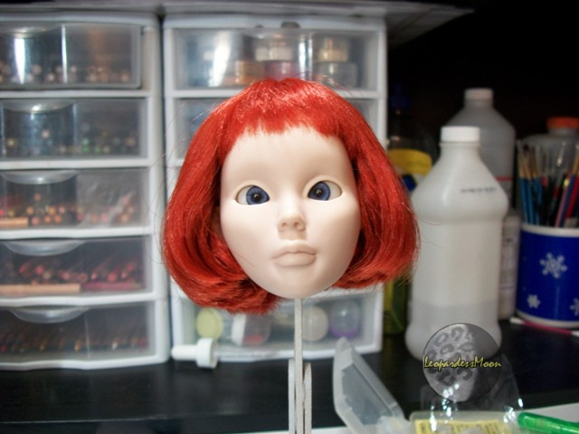 HOW TO: Install eyes into a dolls head 8115086184_d1c75990b6_o