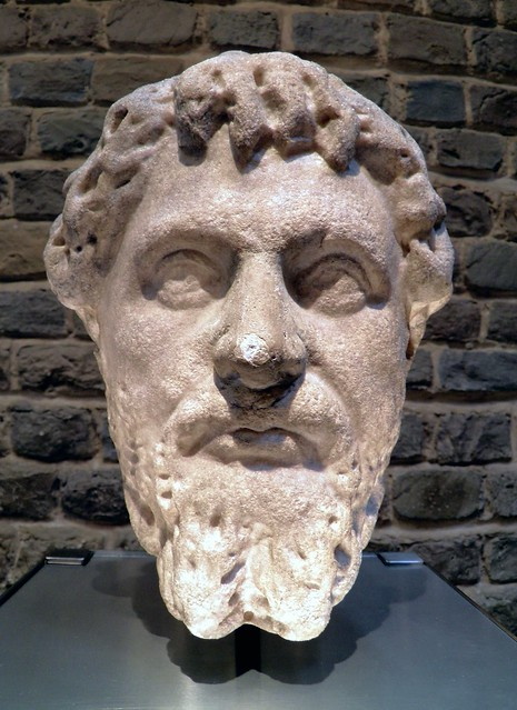 Portrait bust of the Emperor Septimius Severus, Romisch-Germanisches Museum, Cologne
