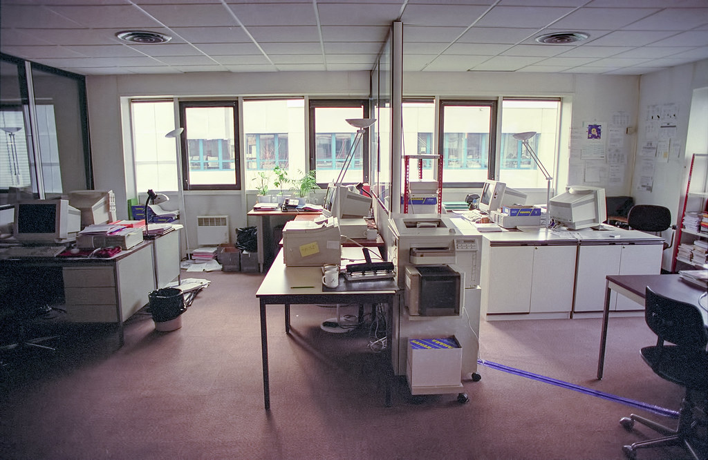 Empty office 1995