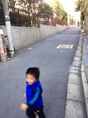 朝散歩 - 坂ダッシュ (2012/10/26)