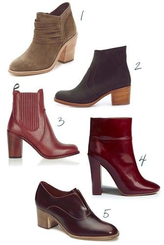 Stacked heel round-up