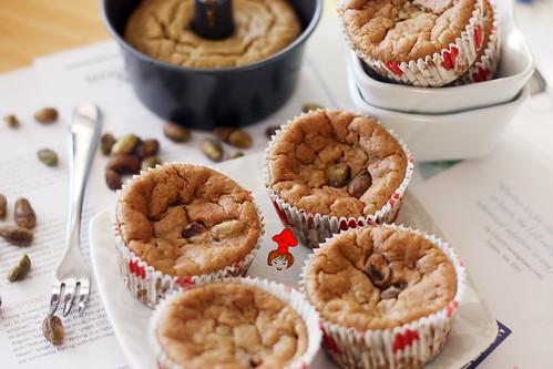 健康輕食-低脂無油配方香蕉杯子蛋糕 banana cup cake 5