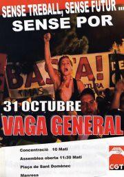 manresa concentració i assemblea 31 octubre 2012