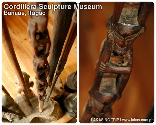 Collection of Staves at the Cordillera Sculpture Museum in Banaue, Ifugao