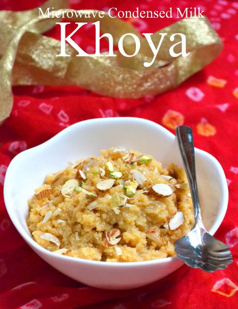 Microwave Khoya in 15mins