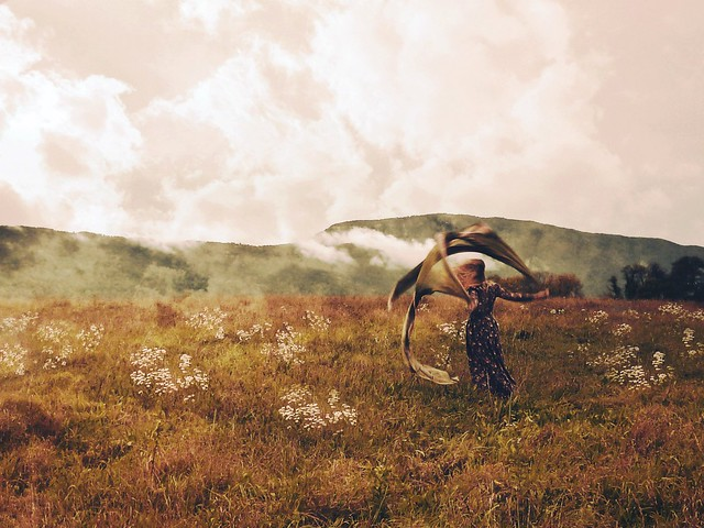 Creative self portrait photography by Olga Valeska