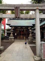 朝散歩 - 恵比寿神社 (2012/10/28)