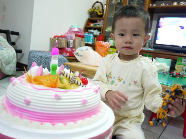 阿頡三歲生日