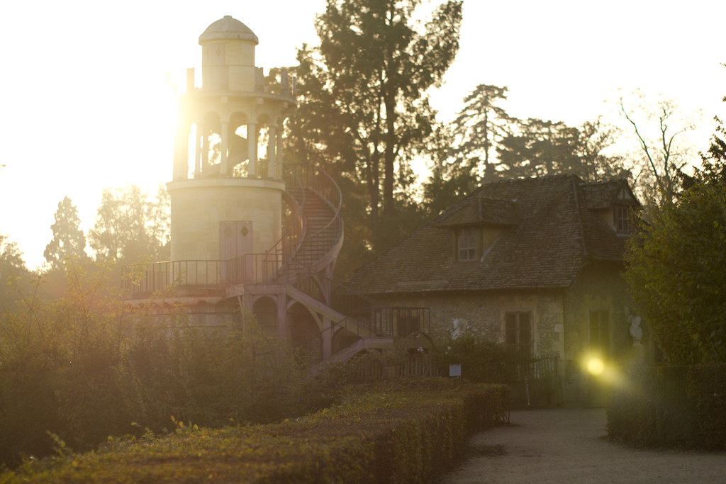 The Hamlet in La Domaine de Marie Antoinette at Versailles in Autumn 11