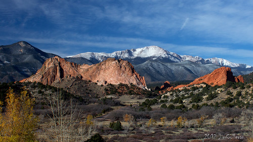 Pikes Peak and Garden of the Gods by jim.colleran