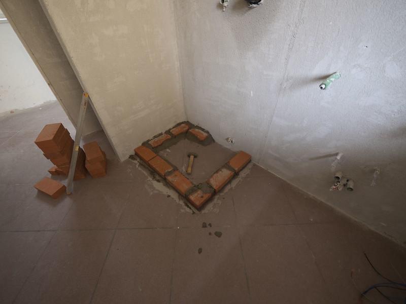 Nuova ristrutturazione galleria fotografica - Scarichi bagno pendenze ...