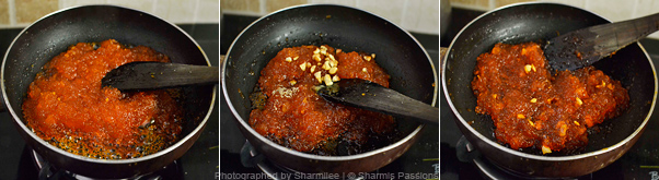 How to make kasi halwa - Step3