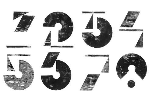 Kendle nouvelle vague numerals