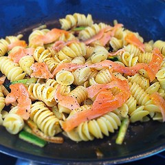 pasta salad, vegetable, fusilli, pasta, food, dish, rotini, cuisine,