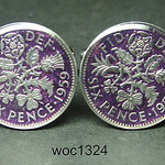 woc1324 Great British coin cufflinks