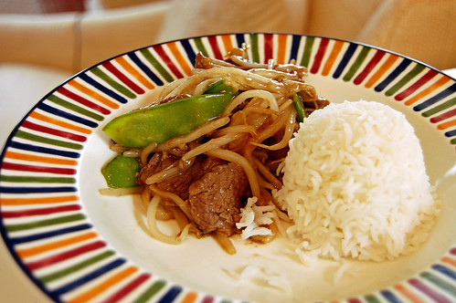 Beef and Snow Peas Stir-Fry
