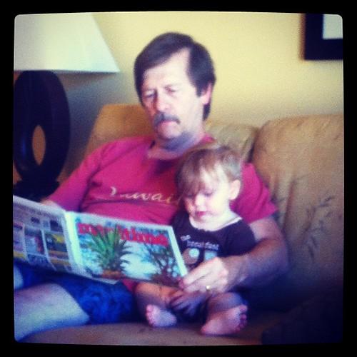 Morning Newspaper Reading