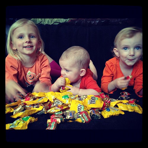 Annual kids-in-the-candy photoshoot.