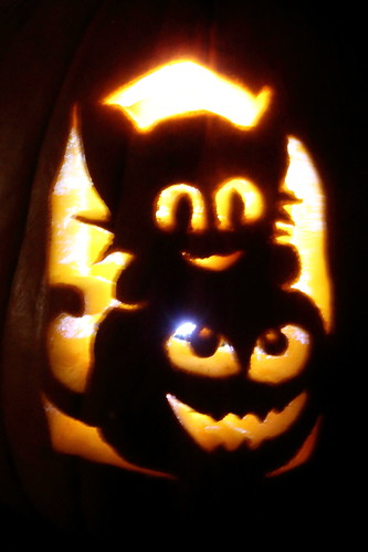 Kittycat pumpkin