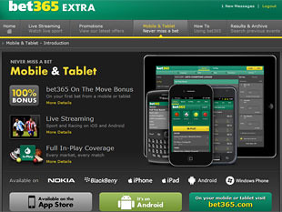 Bet365 Sports Mobile Betting