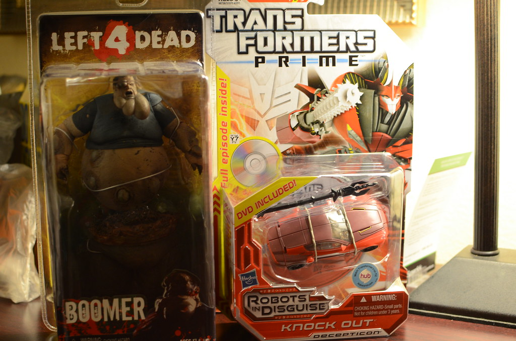 Neca L4D2 Boomer and TF Prime Knockout