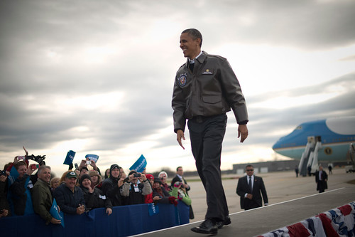 Barack Obama in Green Bay, Wisconsin- November 1st
