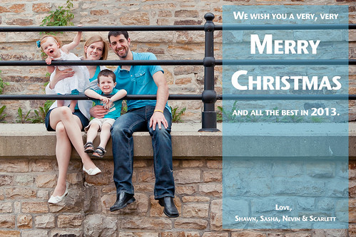 ChristmasCard2012 by SashaWarner