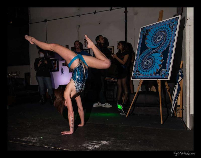 First Friday - January 2013 - Body Painting at SOHO
