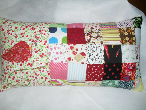 Almofada patchwork by jodrika