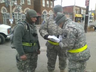 New York Guard Responds to Hurricane Sandy