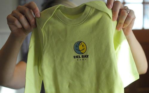Del Ray Baby onesie