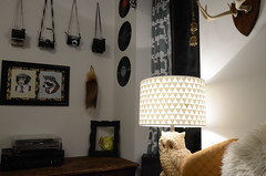 DIY Triangle Lamp Shade