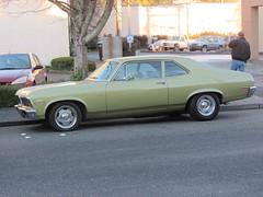 automobile, automotive exterior, vehicle, compact car, sedan, chevrolet chevelle, land vehicle, muscle car,