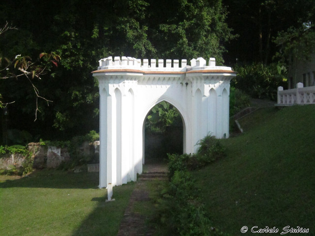Fort Canning - Memorial to James Brooke Napier 01