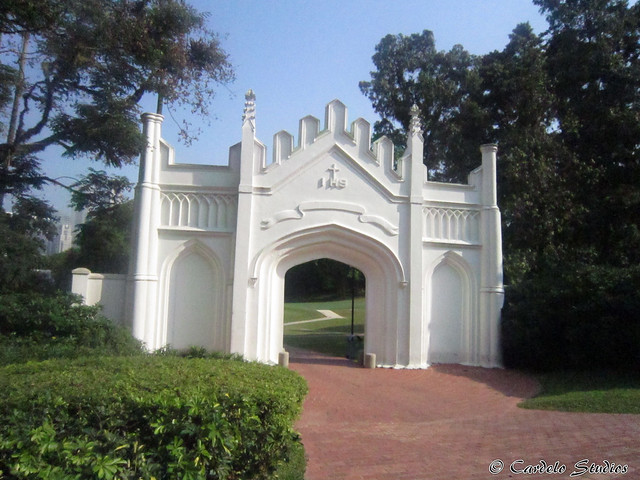 Fort Canning - Gothic Gate 01