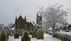 Queensbury in the snow