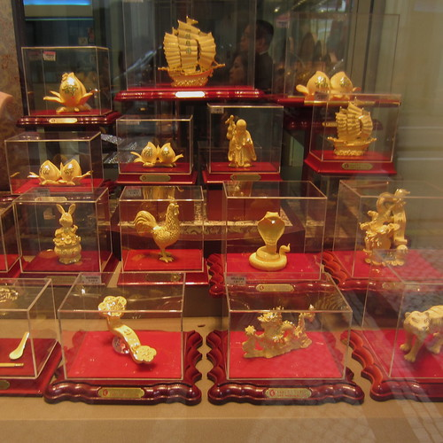 Gold for sale, Macao