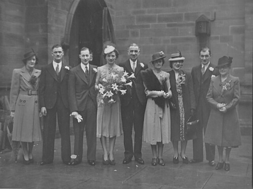 Wedding of Florence Palethorpe and Sam Redpath