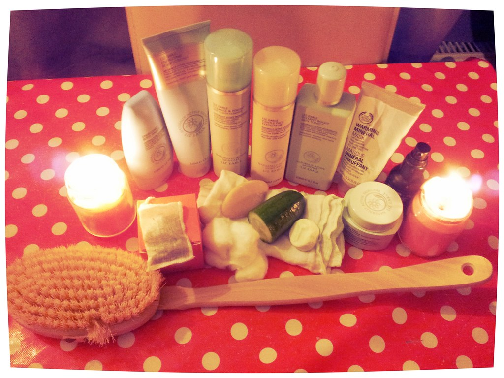 , Time to relax…My mini home spa experience